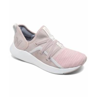ニューバランス レディース スニーカー シューズ Women's Beaya Slip-On Casual Athletic Sneakers from Finish Line Logwood