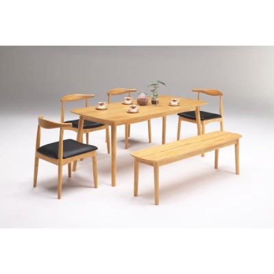 ダイニングテーブルセット ガロ ベンチ 6人