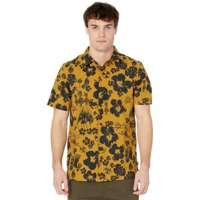 バンズ シャツ トップス メンズ Dark Aloha Short Sleeve Woven Dried Tobacco/Dark Aloha