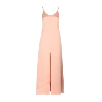 アリス・アンド・オリビア ALICE + OLIVIA ロングワンピース&ドレス ローズピンク 2 シルク 100% ロングワンピース&ドレス