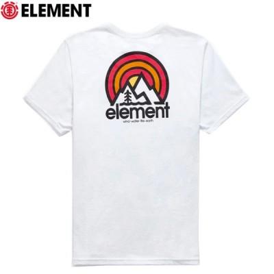 エレメント ELEMENT  メンズ Tシャツ 半袖 ソナタTシャツ ホワイト