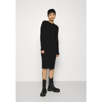 アーケット レディース ワンピース トップス DRESS - Day dress - black black