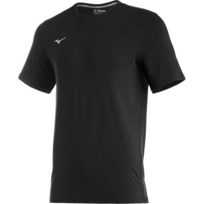 ミズノ Mizuno メンズ Tシャツ トップス Comp Diamond Short Sleeve Crew black