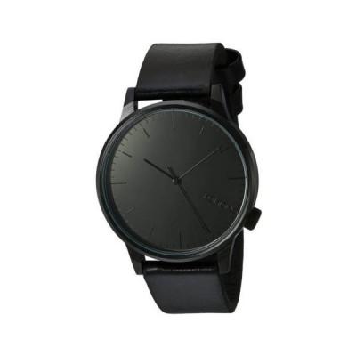 腕時計 コモノ Komono KOM-W2890 Unisex Winston Mirror Black Dial Black Strap Watch