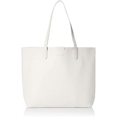 [アイモン] トートバッグ レディース ハンドバッグ 肩掛けバッグ ポーチ付き鞄 A4 99DGXB-006-WH-FF ホワイト