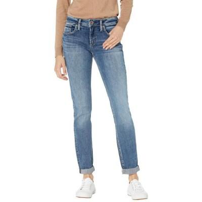 シルバー ジーンズ レディース デニムパンツ ボトムス Boyfriend Mid-Rise Slim Leg Jeans L27101EPX217