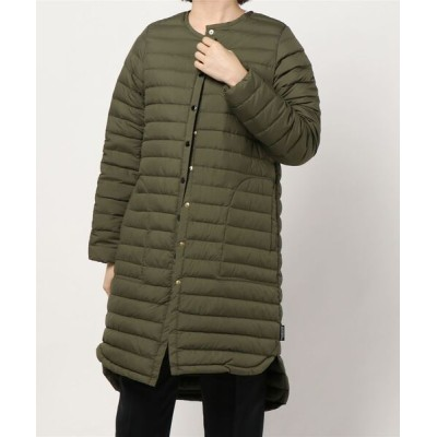 Traditional Weatherwear / ARKLEY LONG DOWN PACKABLE WOMEN ジャケット/アウター > ダウンジャケット/コート