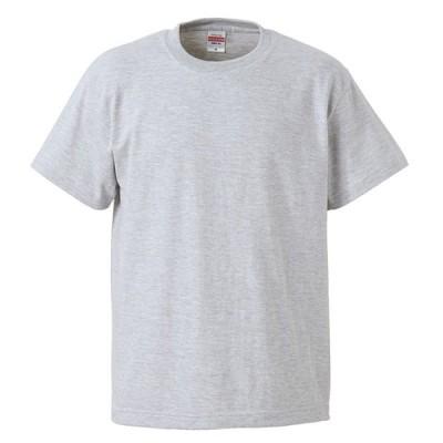Tシャツ 半袖 キッズ 子供服 ハイクオリティー 5.6oz 110 サイズ アッシュ 無地 ユナイテッドアスレ CAB