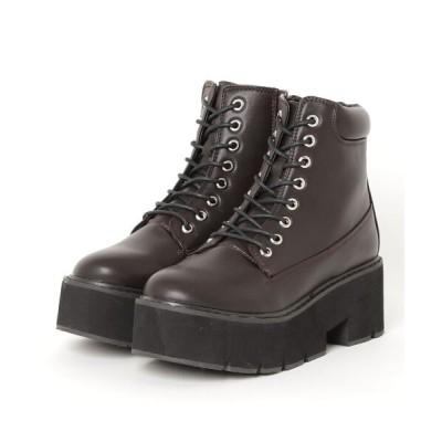 chumchum / SUGAR SUGAR /レースアップブーツ WOMEN シューズ > ブーツ