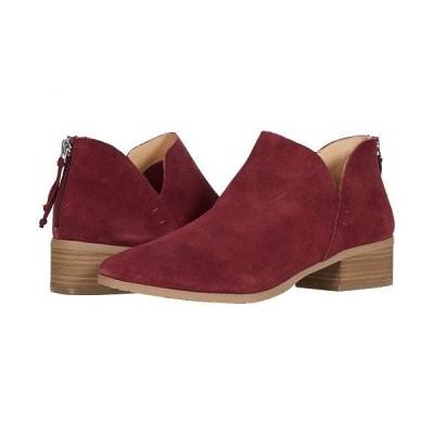 Kenneth Cole Reaction ケネスコール レディース 女性用 シューズ 靴 ブーツ アンクル ショートブーツ Side Skip - Burgundy