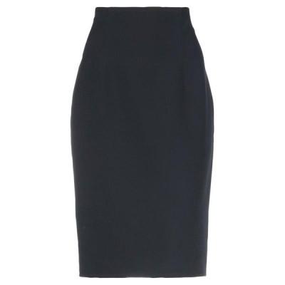 GIANLUCA CAPANNOLO 七分丈スカート  レディースファッション  ボトムス  スカート  ロング、マキシ丈スカート ブラック
