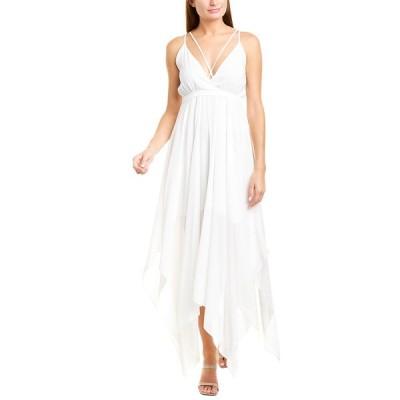 シングル ワンピース トップス レディース Single Arwin Maxi Dress white
