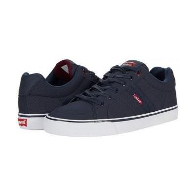 Levi's(R) Shoes リーバイス メンズ 男性用 シューズ 靴 スニーカー 運動靴 Turner Pin Perforated - Navy/Burgundy