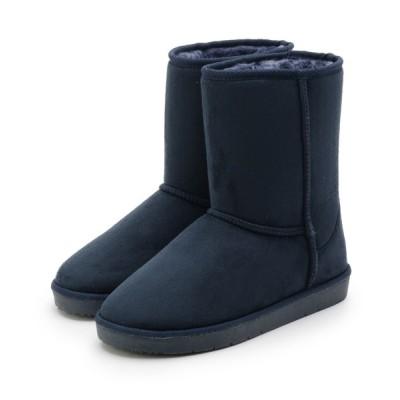 SHOO・LA・RUE / 【微撥水】2WAYフェイクムートンブーツ(ミドル) WOMEN シューズ > ブーツ