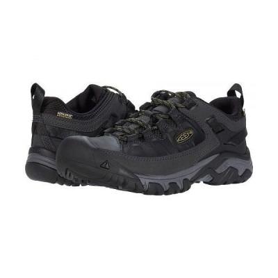 Keen キーン メンズ 男性用 シューズ 靴 ブーツ ハイキング トレッキング Targhee III Waterproof - Black/Olive Drab