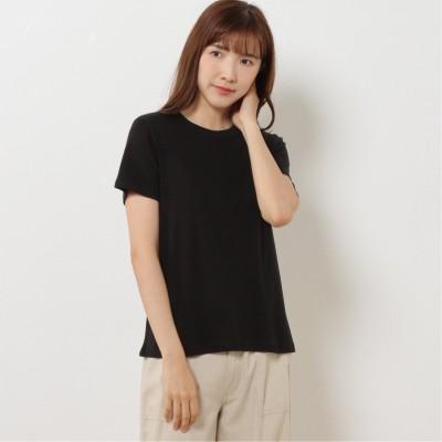 インナーにも◎オーガニックコットン100%Tシャツ(プリュスボルメ/+borme)