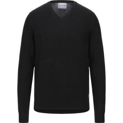 ジョン リッチモンド JOHN RICHMOND メンズ ニット・セーター トップス sweater Black