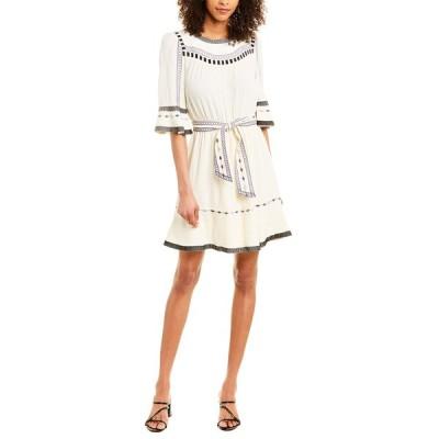 バッシュ ワンピース トップス レディース ba&sh Plaza A-Line Dress ecru