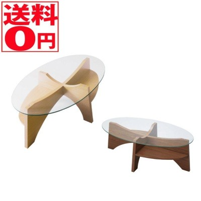Oval Low Table オーバル ローテーブル WAL/NA LE-454