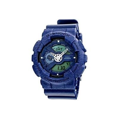 カシオ CASIO Gショック アナデジ クオーツ メンズ 腕時計 GA-110HT-2A ネイビー [並行輸入品]