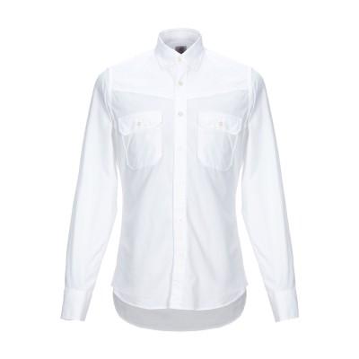 MOSCA シャツ ホワイト 42 コットン 100% シャツ
