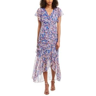 ショシャーナ レディース ワンピース トップス Shoshanna Silk-Blend Gown lurex & pink