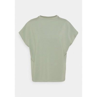 ノイジーメイ Tシャツ レディース トップス NMHAILEY - Basic T-shirt - slate gray
