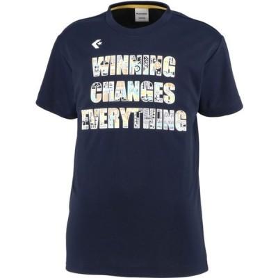 0S JRプリントTシャツ converse(コンバース) バスケットTシャツ J (cb401353-2900)
