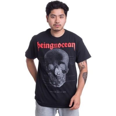 ビーイング アズ アン オーシャン Being As An Ocean メンズ Tシャツ トップス - Skull Diagram - T-Shirt black