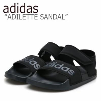 アディダス サンダル adidas メンズ レディース ADILETTE SANDAL アディレット サンダル BLACK ブラック F35417 シューズ