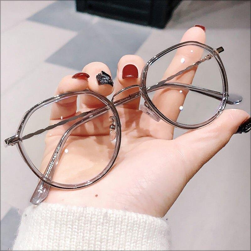 大框平光眼鏡‧情侶款抗藍光大框顯瘦小臉平光眼鏡‧3色【NXG2653】-TAIJI-
