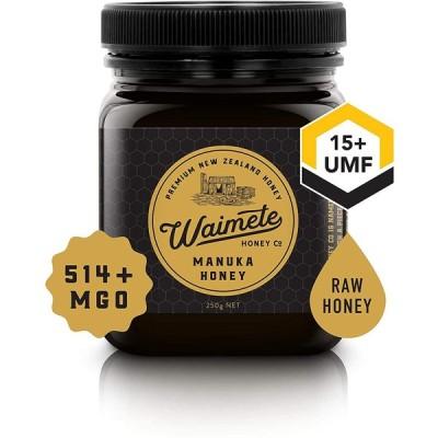 (Waimete Honey) (ワイメテハニー) マヌカハニーUMF15+ MGO514+ (250g)