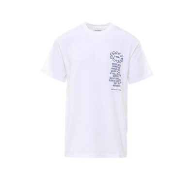 カーハート メンズ Tシャツ トップス Carhartt WIP X Relevant Parties Public Possession Printed T-Shirt -
