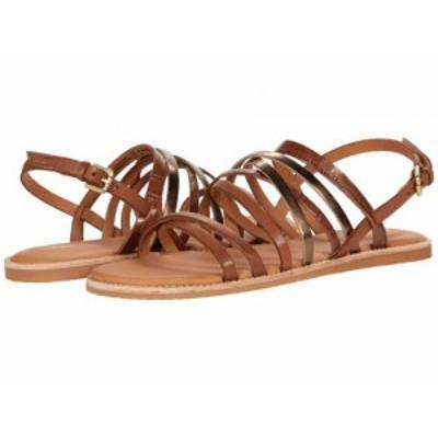 Clarks クラークス レディース 女性用 シューズ 靴 サンダル Karsea Ankle Tan Leather Combi【送料無料】
