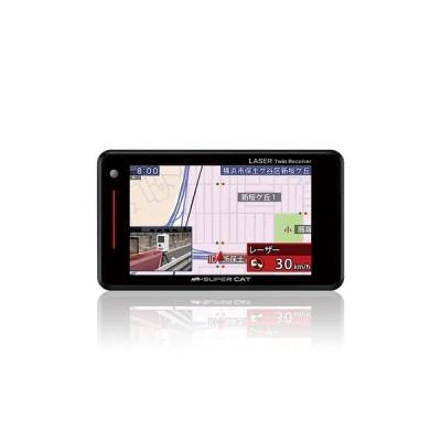 ユピテル GPSアンテナ内蔵 レーザー&レーダー探知機 GS103
