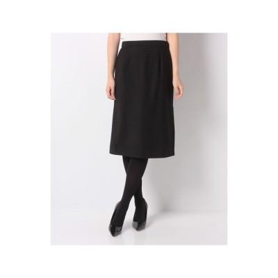 レリアンプラスハウス タイトスカート(ブラック)【返品不可商品】