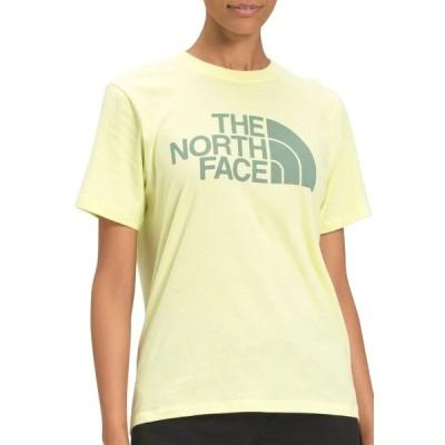 ノースフェイス シャツ トップス レディース The North Face Women's Half Dome T-Shirt PaleLimeYellow