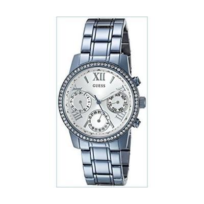 GUESS Women's U0623L4 Iconic Sky Blue Watch Multi-Function並行輸入品