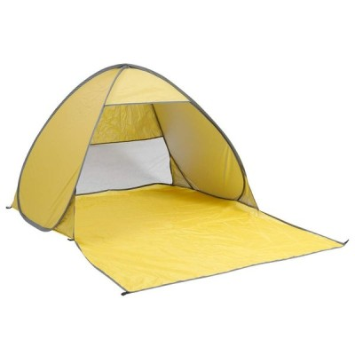 roomnhome(ルームアンドホーム) テント ミニ ワンタッチ M + CAMP イエロー 150×200×110cm