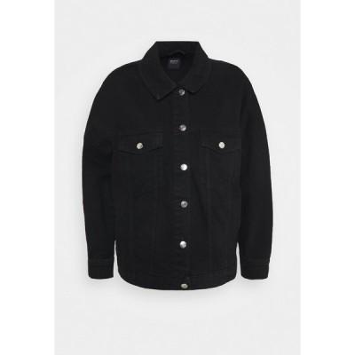 オンリー ジャケット&ブルゾン レディース アウター ONLSAFE LIFE  - Denim jacket - black denim