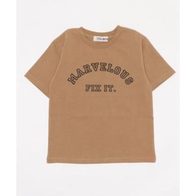 tシャツ Tシャツ [ボーイズ]h/BOY プリント半袖Tシャツ