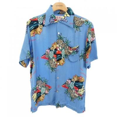Aloha Blossom S/Sシャツ