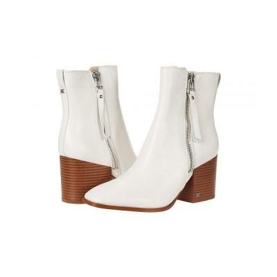 Sam Edelman サムエデルマン レディース 女性用 シューズ 靴 ブーツ アンクル ショートブーツ Carlysle - White