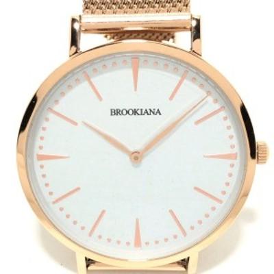 ブルッキアーナ BROOKIANA 腕時計 - BA3102 レディース 白【中古】20210902
