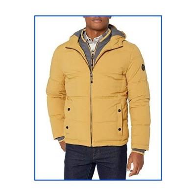 【新品】LONDON FOG メンズ Chazy フード付きビビージャケット ポリフィル断熱 US サイズ: Large カラー: イエ