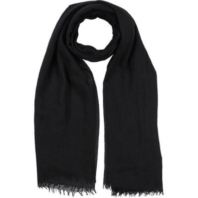リック オウエンス RICK OWENS レディース マフラー・スカーフ・ストール scarves Black