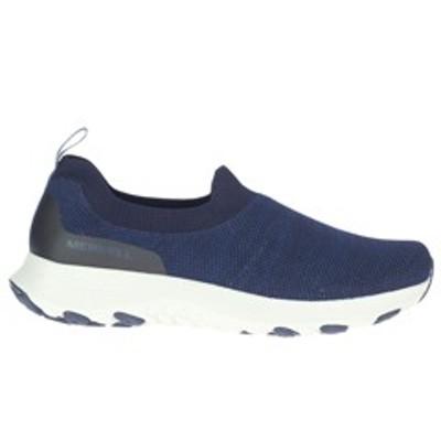 MERRELL メレル クラウド モック ニット [サイズ:28cm (US10)] [カラー:ネイビー] #J003221 送料無料 靴 CLOUD MOC KNIT