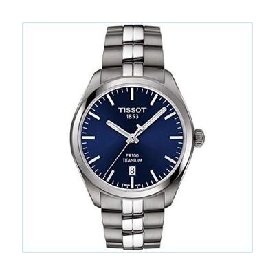 Tissot PR 100 Quartz Blue Dial Titanium Men's Watch T101.410.44.041.00並行輸入品