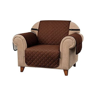 subrtex Reversible Sofa Cover Couch Slipcover with Elastic Straps Furniture