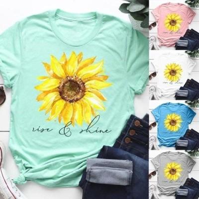 レディース 衣類 トップス Women's Sunflower Graphic Tee Tシャツ